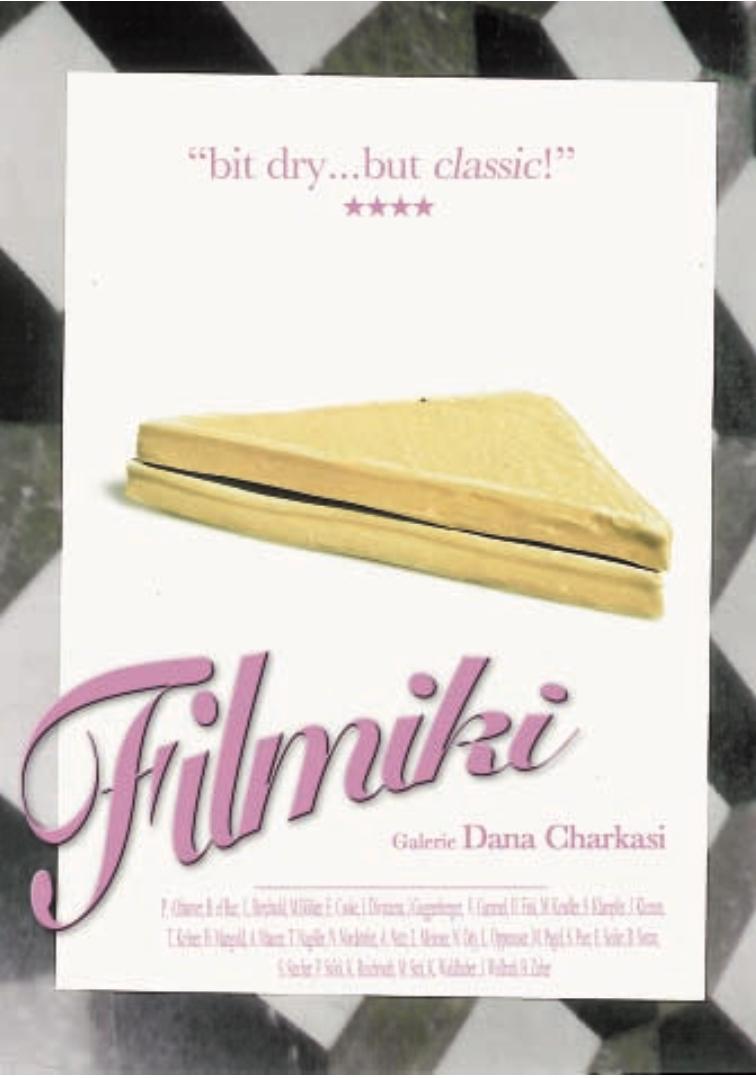 Filmposter, Galerie Dana Charkasi, curated by_Pawel Althamer, Tonio Kröner, 2010