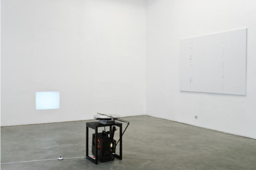 Exhibition View, Christine König Galerie, A BAS LENINE, OU LA VIERGE A L'ECURIE, curated by_Pierre Bismuth, 2010, Photo: Christine König Galerie