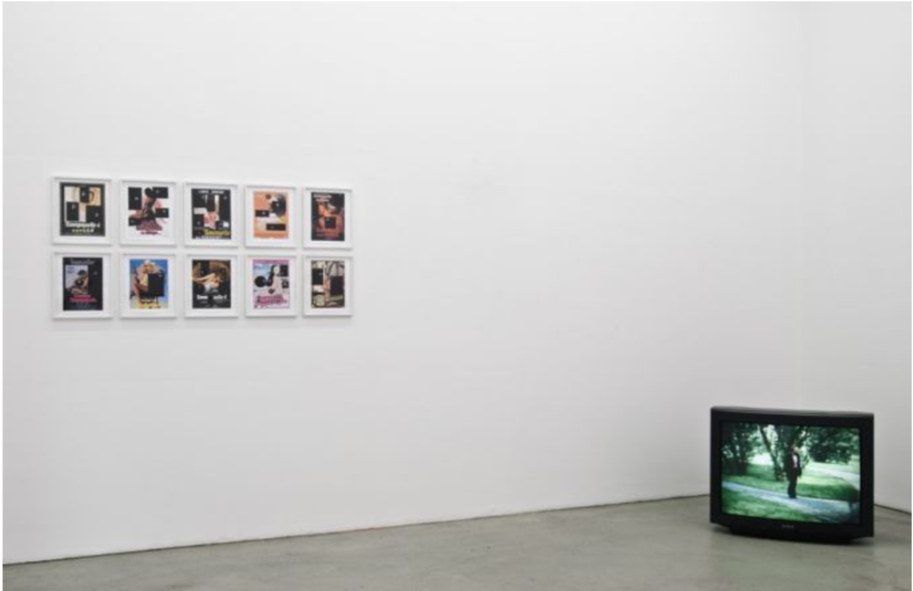 Exhibition View, Gabriele Senn Galerie, You're scripted, curated by_Marko Lulic, 2010, Photo: Gabriele Senn Galerie