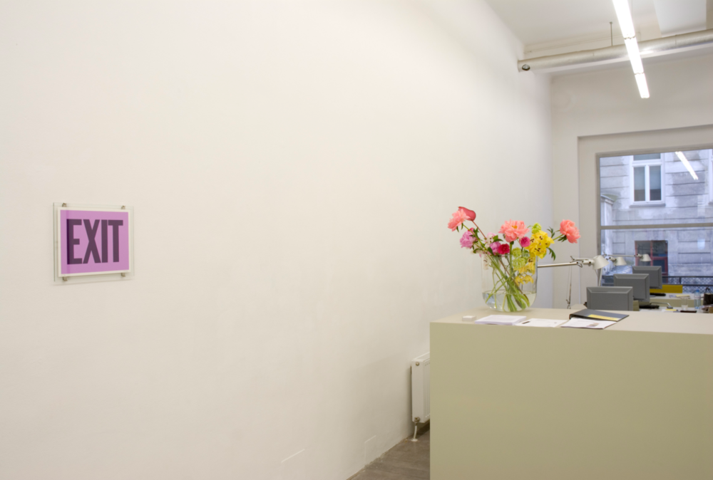 Exhibition View, Kerstin Engholm Galerie, curated by_Gianni Jetzer, 2009
