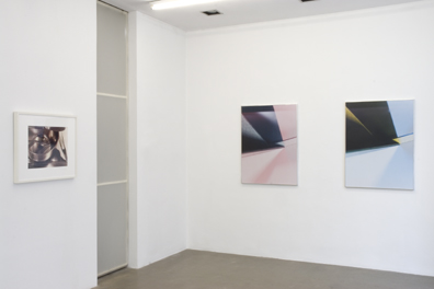 Exhibition View, Galerie Krobath, curated by_Matthew Higgs, 2009, Foto: Karl Kühn