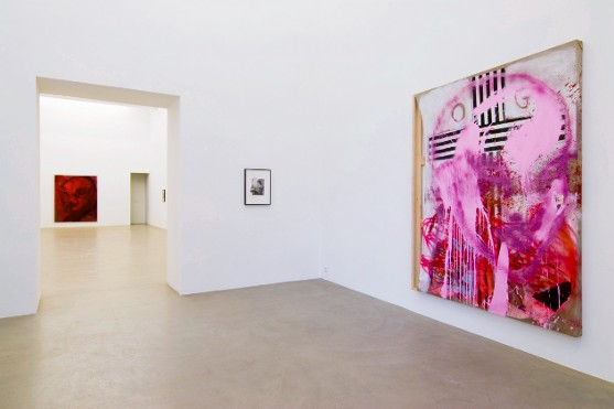 Exhibition View, Galerie Meyer Kainer, curated by_Matthew Higgs, 2009