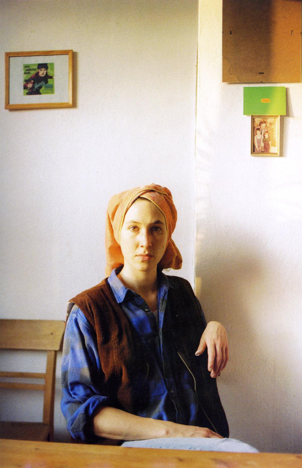JITKA HANZLOVÁ  UNTITLED (TONJA), 1996 Photograph / Fotografie 30 x 19,5 cm Courtesy Georg Kargl Fine Arts, Vienna / Wien