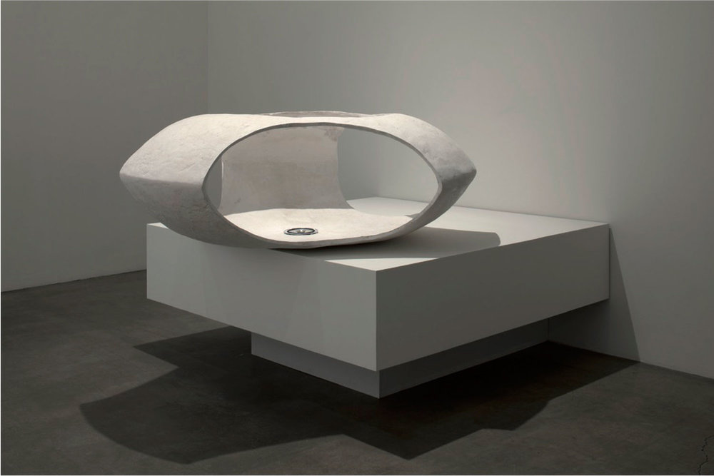 DAVID   MALJKOVIĆ  LOST PAVILION, 2009 Synthetic resin / Kunstharz 55,9 x 134,6 x 134,6 cm Courtesy EVN collection, Vienna / EVN Sammlung, Wien,  Photo: Lisa Rastl
