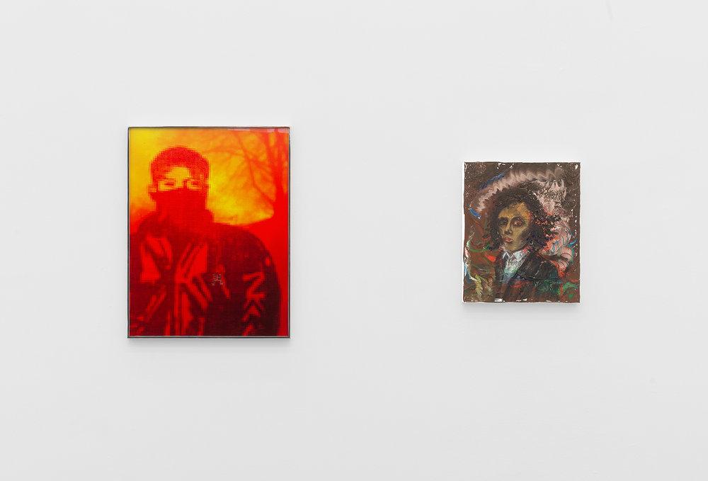 Bonnie Camplin, Amelie von Wulffen, installation view, Galerie Meyer Kainer, Vienna  Photos: Marcel Koehler / Courtesy Galerie Meyer Kainer, Wien