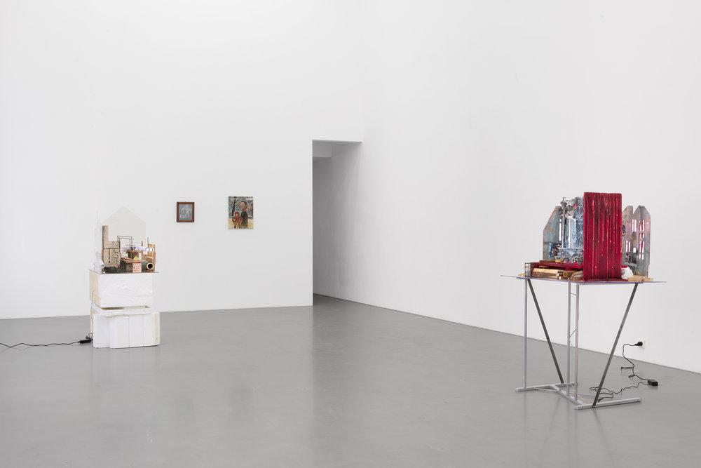 Mathis Altmann, Bonnie Camplin, Amelie von Wulffen, installation view, Galerie Meyer Kainer, Vienna  Photos: Marcel Koehler / Courtesy Galerie Meyer Kainer, Wien