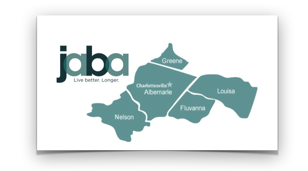 JABA Services - Mountainside is managed by the Jefferson Area Board for Aging (JABA). Since 1975, JABA has been serving the needs of the aging community in the Charlottesville area and surrounding counties.