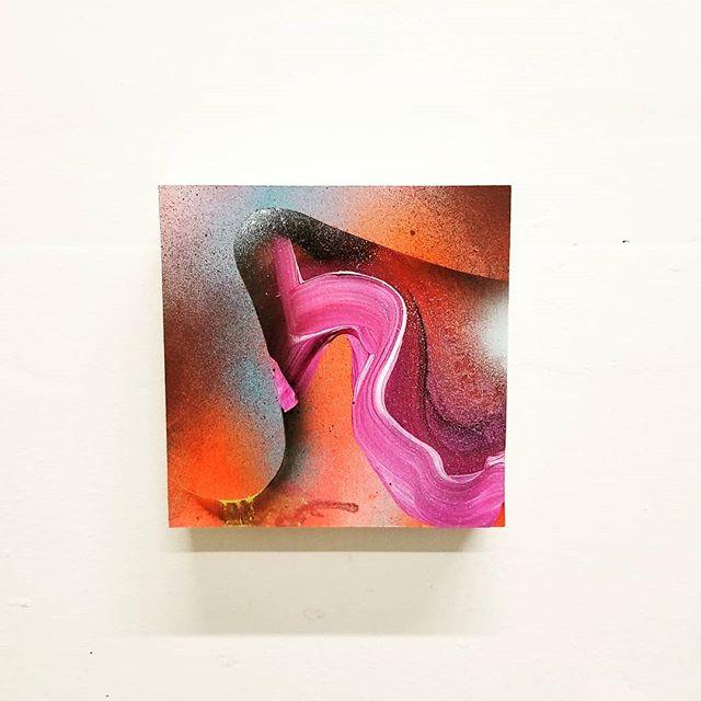 Water Runs Through Rocks - acrylic on panel #Art #ContemporaryArt #CanadianArt #WaterRunsThroughRocks #Paiva #GaryPaiva