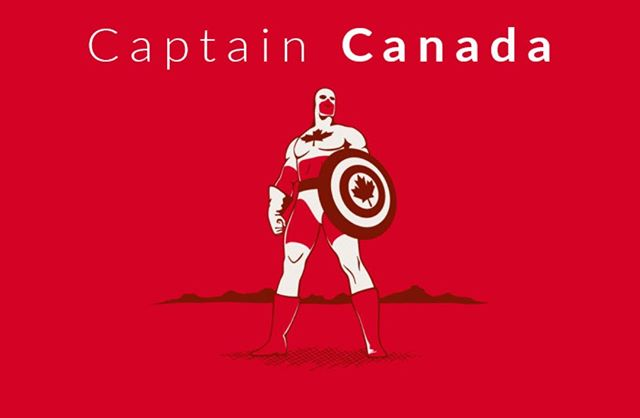 Who says we don't have superheroes? Happy Birthday Canada! #CanadaDay2018 #Canada151