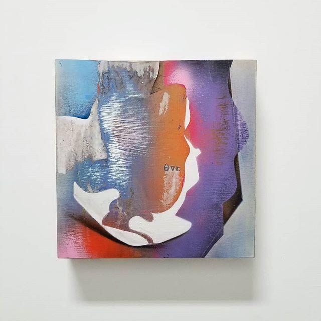Tailor's Chalk - mixed media on panel #Art #CanadianArt  #ContemporaryArt #TailorsChalk #Paiva #GaryPaiva