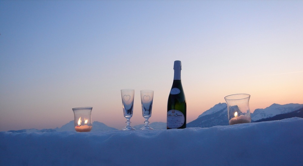 Drinks on the ice table.jpg