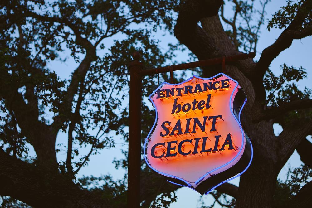 HOTEL SAINT CECILIA , AUSTIN TEXAS