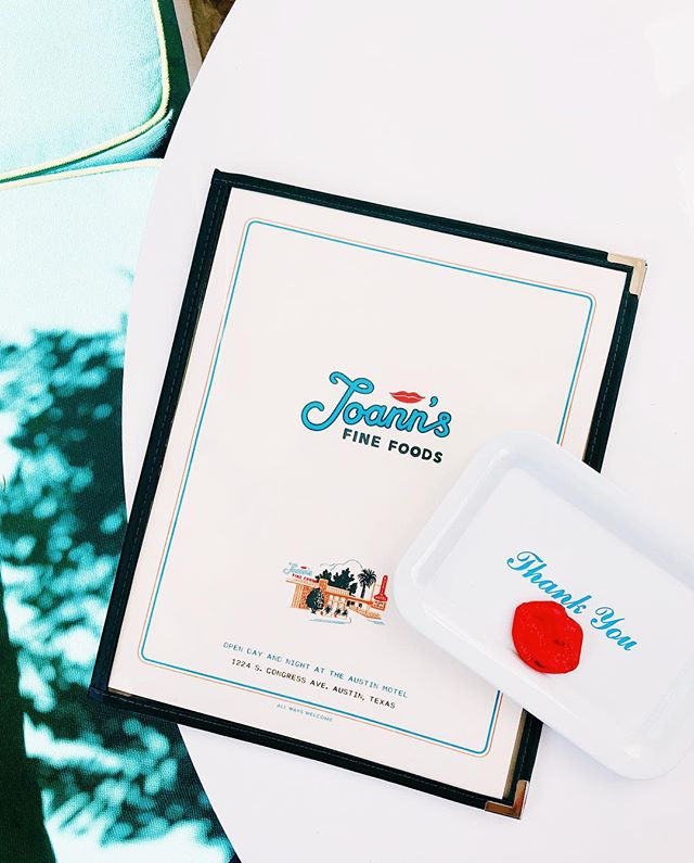 A place for outlaws and in-laws, early birds and night owls. #JoAnnsFineFoods is for everyone! A Tex-Mex inspired menu with a Mezcal and Tequila focused cocktail menu by @mmhaustin, your new favorite restaurant on South Congress awaits you. 💋 Open 8am-late, she's the new sister restaurant of @austinmotel. We love you already, @joannsaustin! 📷: @jackieleeyoung #allwayswelcome #socloseyetsofarout #austinmotel