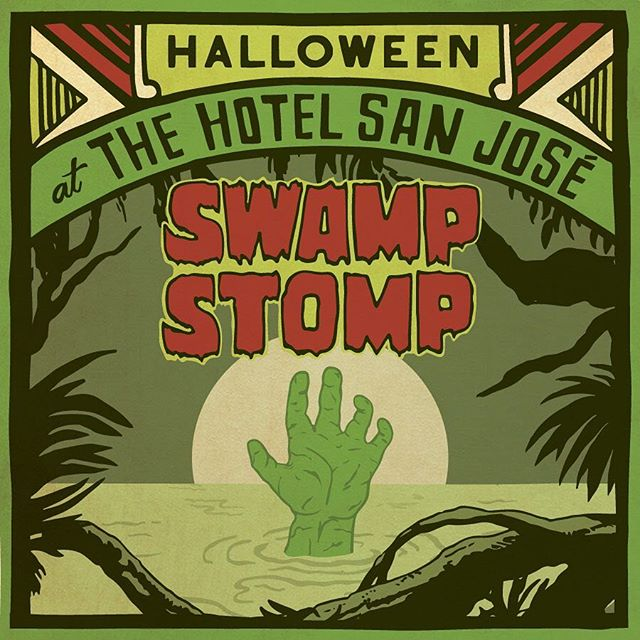 You don't want to miss the annual @hotelsanjose Halloween party! Swing by #HotelSanJose on Saturday, October 27th from 8pm-Midnight with spooky tunes from DJ @gogogarcia and our infamous costume contest! ✨ No cover, open to all! #hotelsanjose #bunkhousehotels
