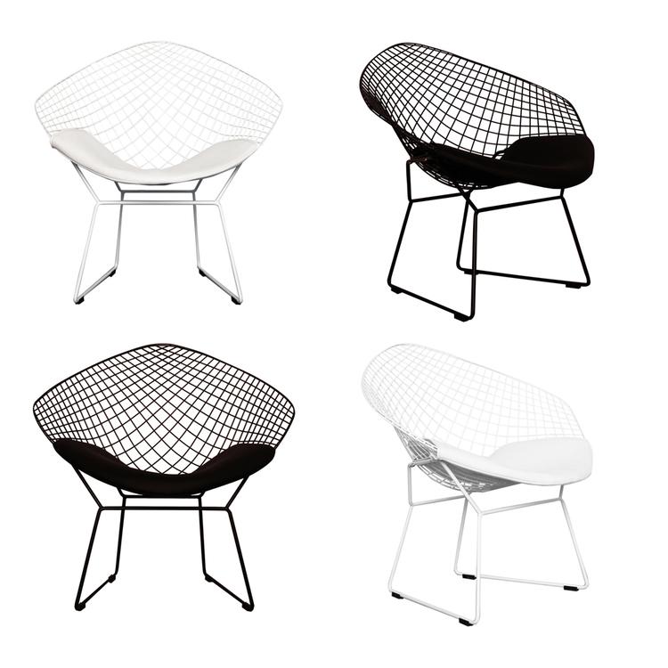 white modern chair ciel life style home