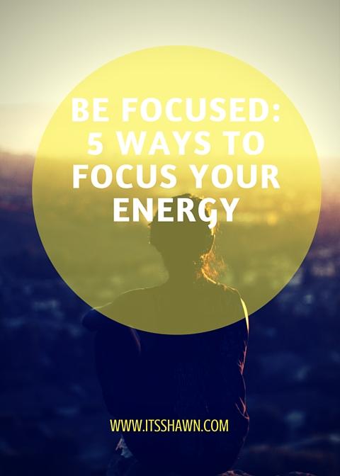 Be Focused graphic