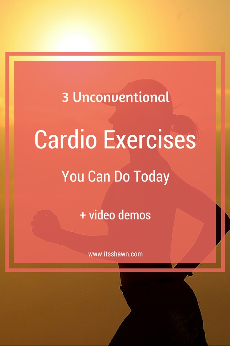 3 Unconventional Cardio Exercises You Can Do Today