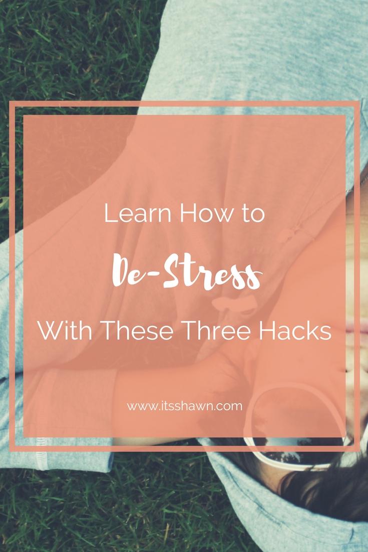 3 Fitness Hacks to De-Stress