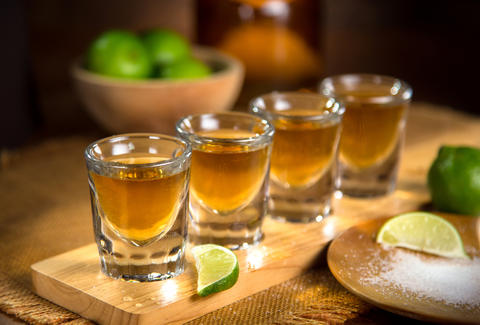 tequila, healthier alcohol option