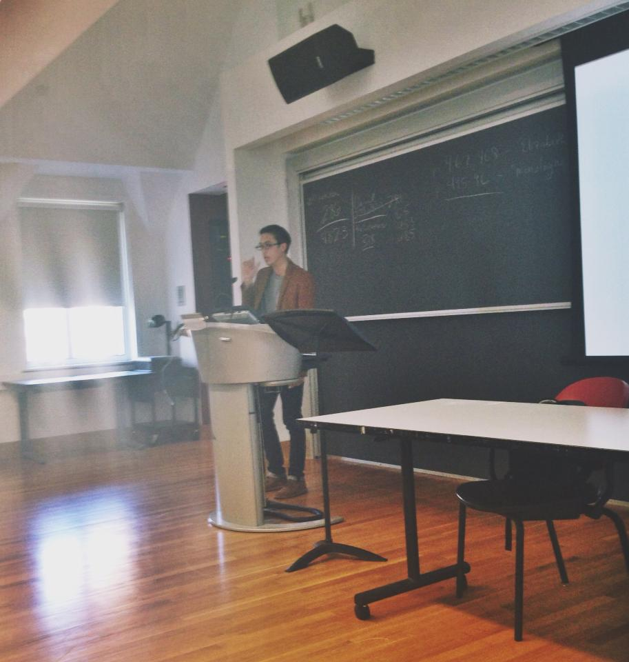 My first lecture at The University of Pennsylvania.