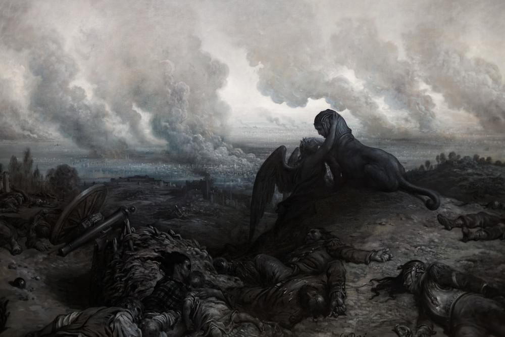 - L'Enigme (The Enigma) - Gustave Doré (1871)