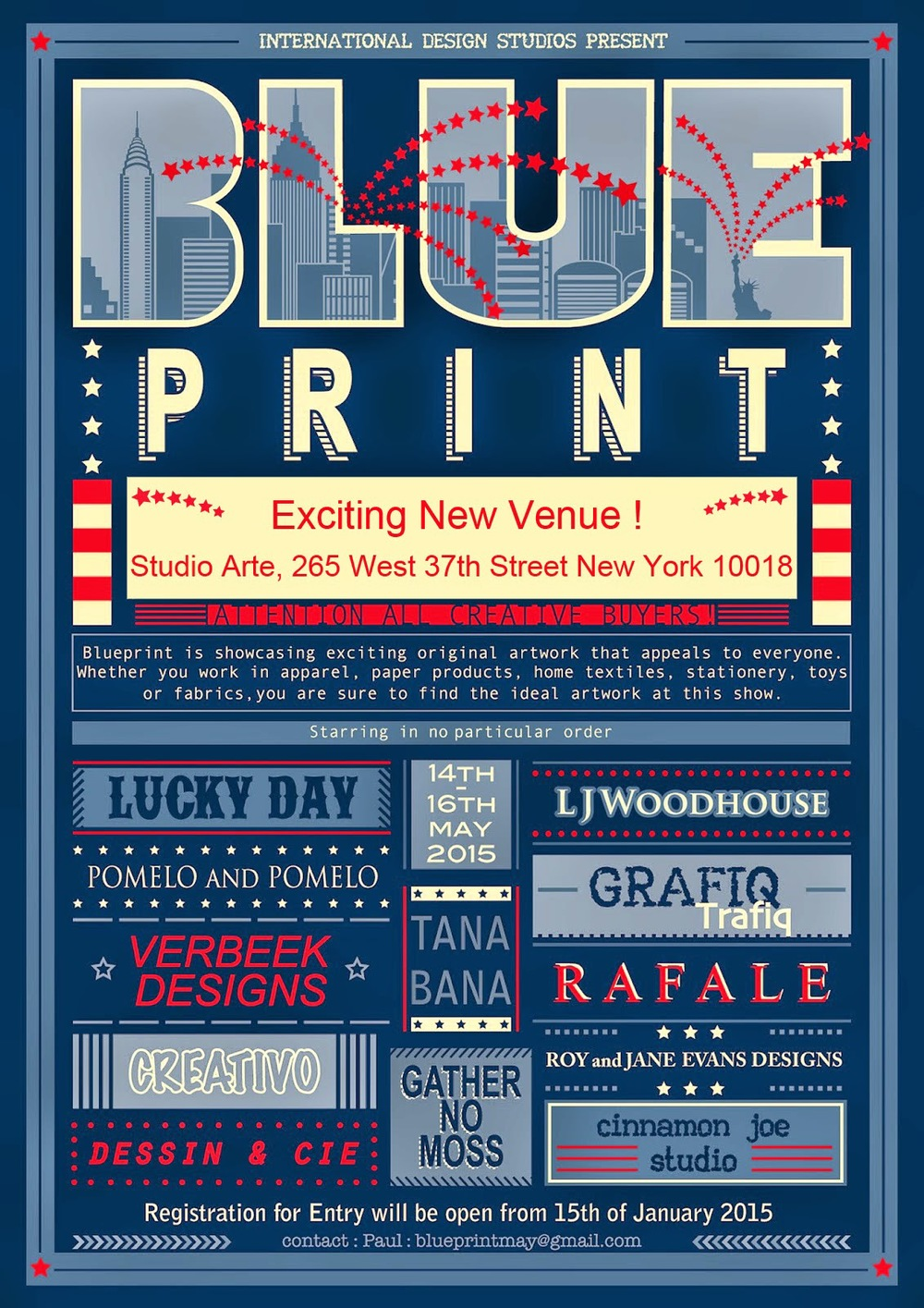 Blue print design show may 2015 blueprint to register to attend please click the button on the top middle of the page malvernweather Images