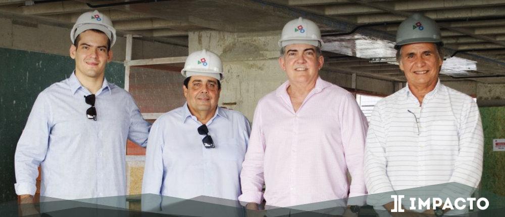 Renato Leitão, Joaquim Caracas, Jayme Leitão e Ricardo Ramos