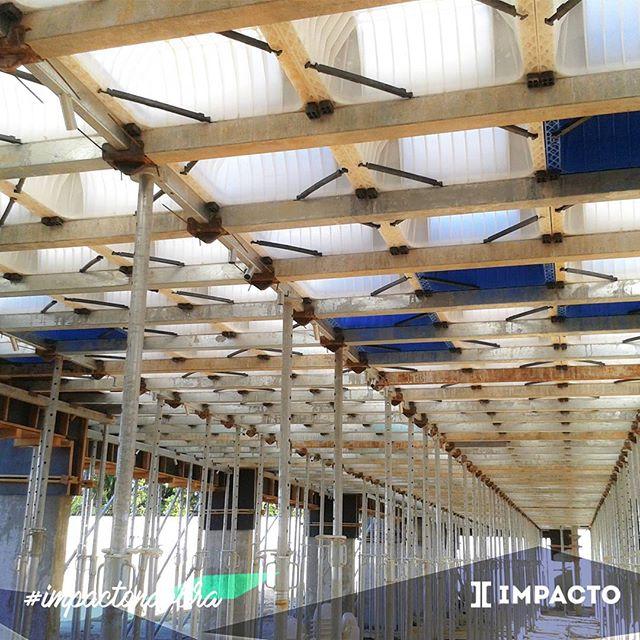 Buscando sempre a melhor opção em economia e eficiência para aplicação em estruturas. #lajenervurada #concreto #engenhariacivil #construcaocivil #impactonaobra #obraspelobrasil