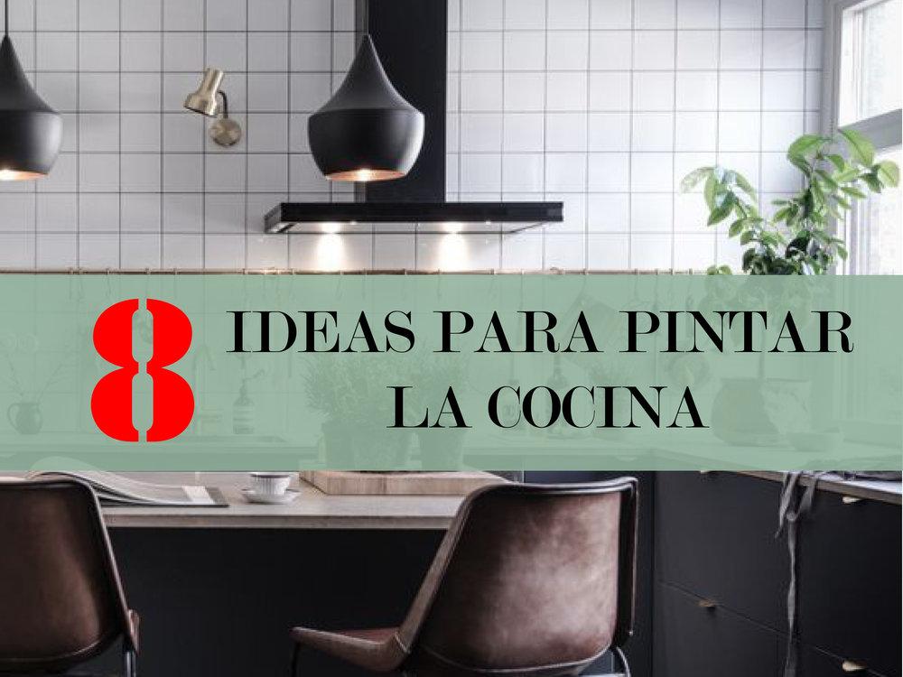 8 Ideas para pintar la cocina — Makahe
