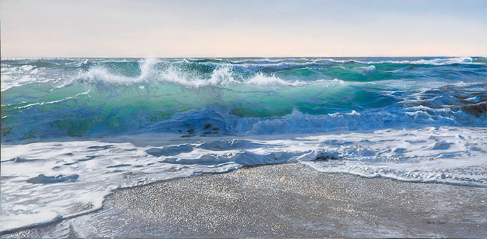 Late Afternoon Beach Break - Limited Edition Print