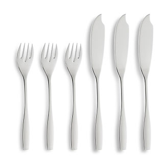 This week's prize ... a 12-piece fish cutlery set. Sure to impress at your next dinner party!