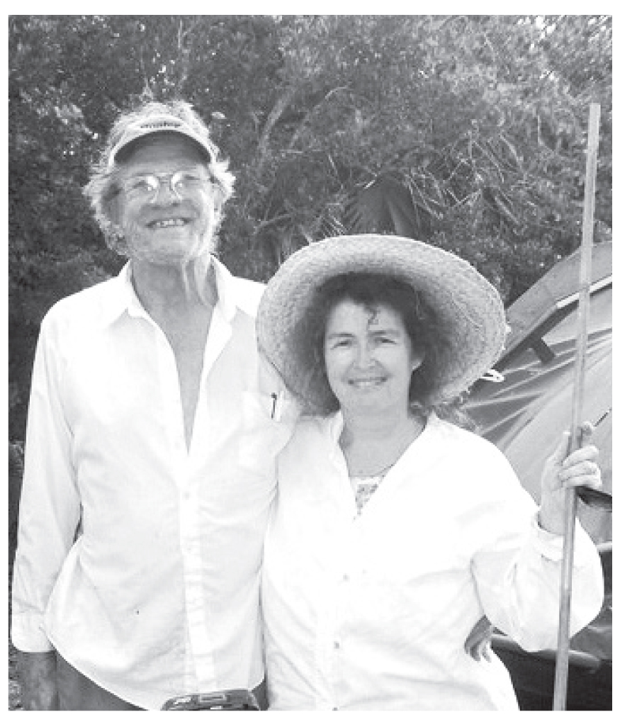 Salt farmers and founders of Florida Keys Sea Salt, Tom Weyant and Midge Jolly are continuing a time honored Keys tradition.