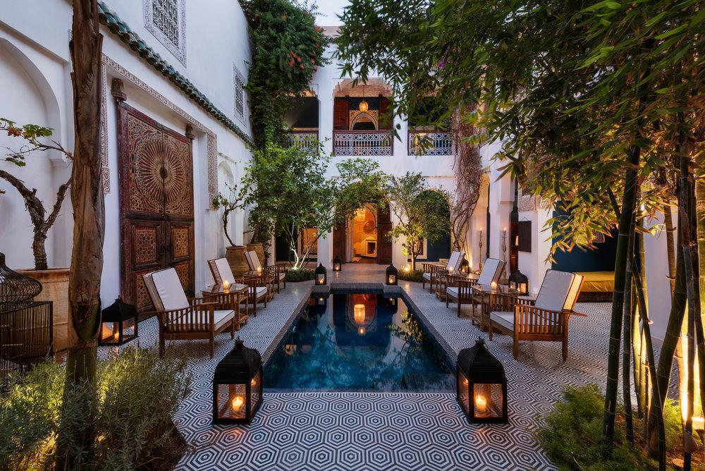 Riad Les Yeux Bleus - Marrakesh accommodation.