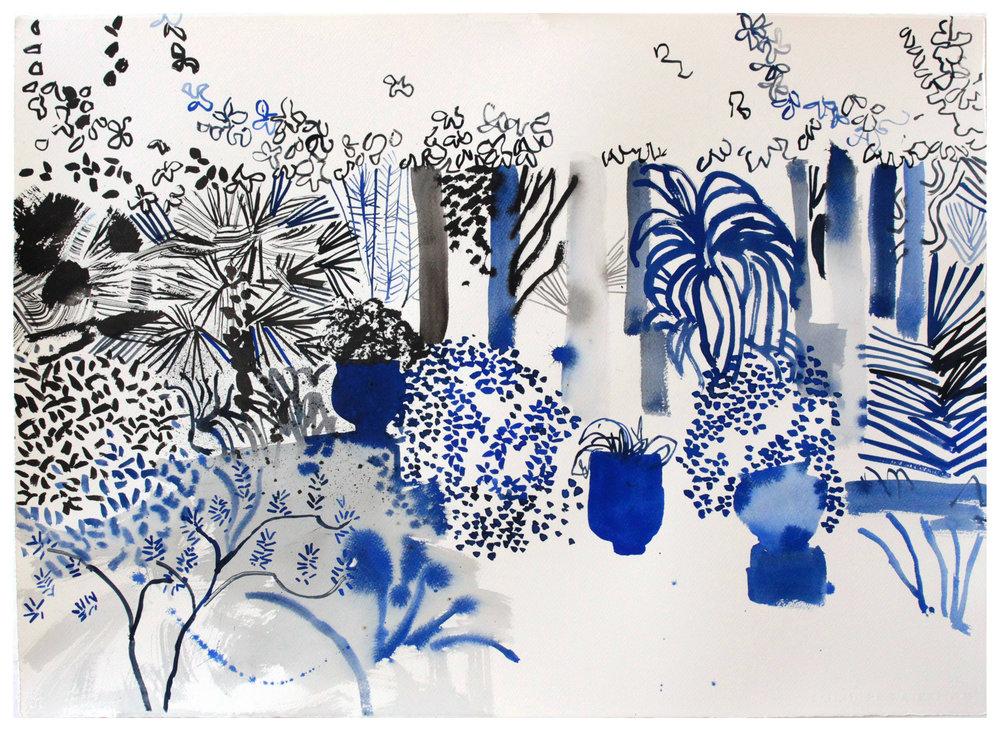 Jardin Majorelle 2015  76 x 56 cm  £1200