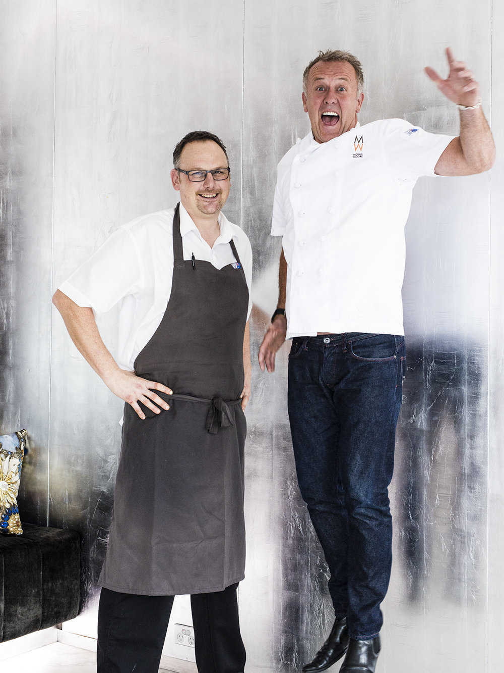 Exec. Chef Darren Templeman & Director of O Bar & Dining Michael Moore
