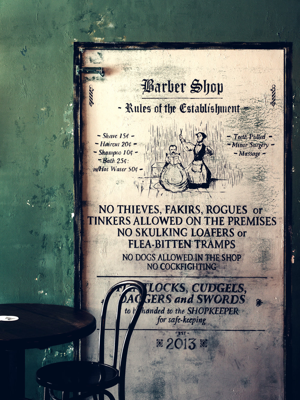 The Barber Shop - York St