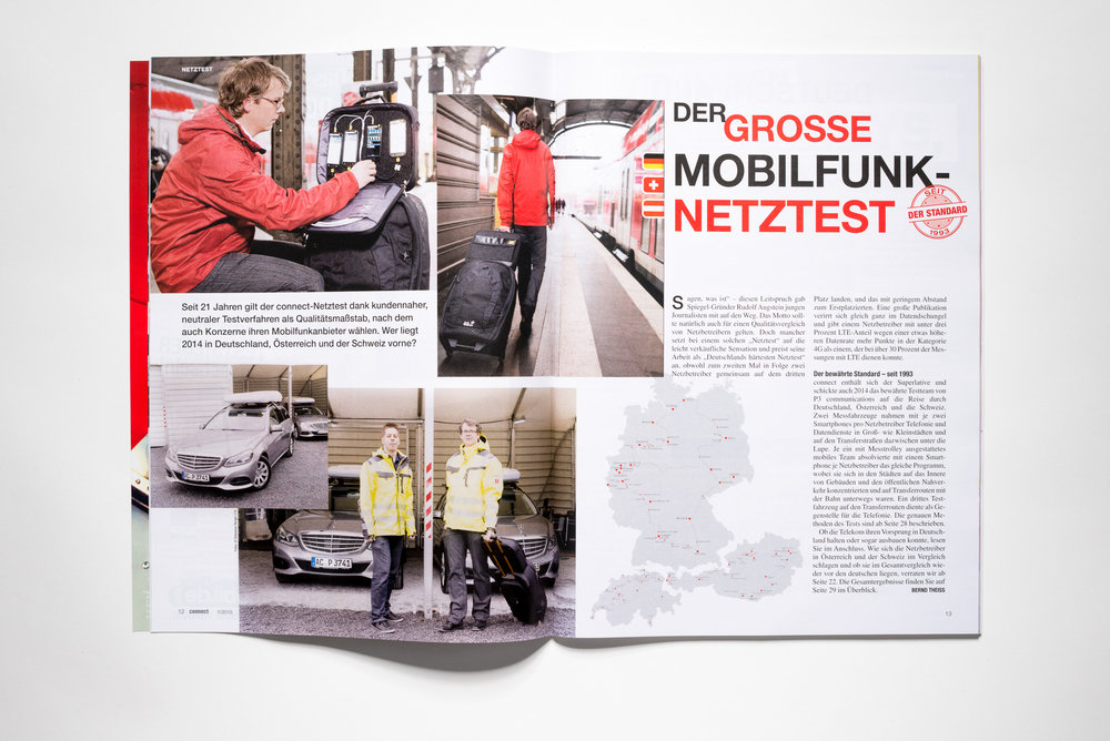 Mobilfunk Netztest Connect Magazin