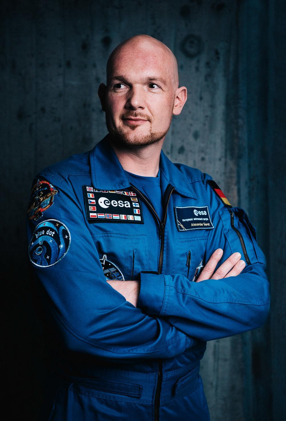 Dr. Alexander GerstESA-Astronaut