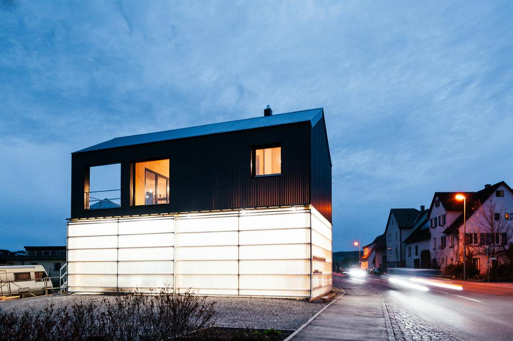 Haus Unimog Architekturfotografie