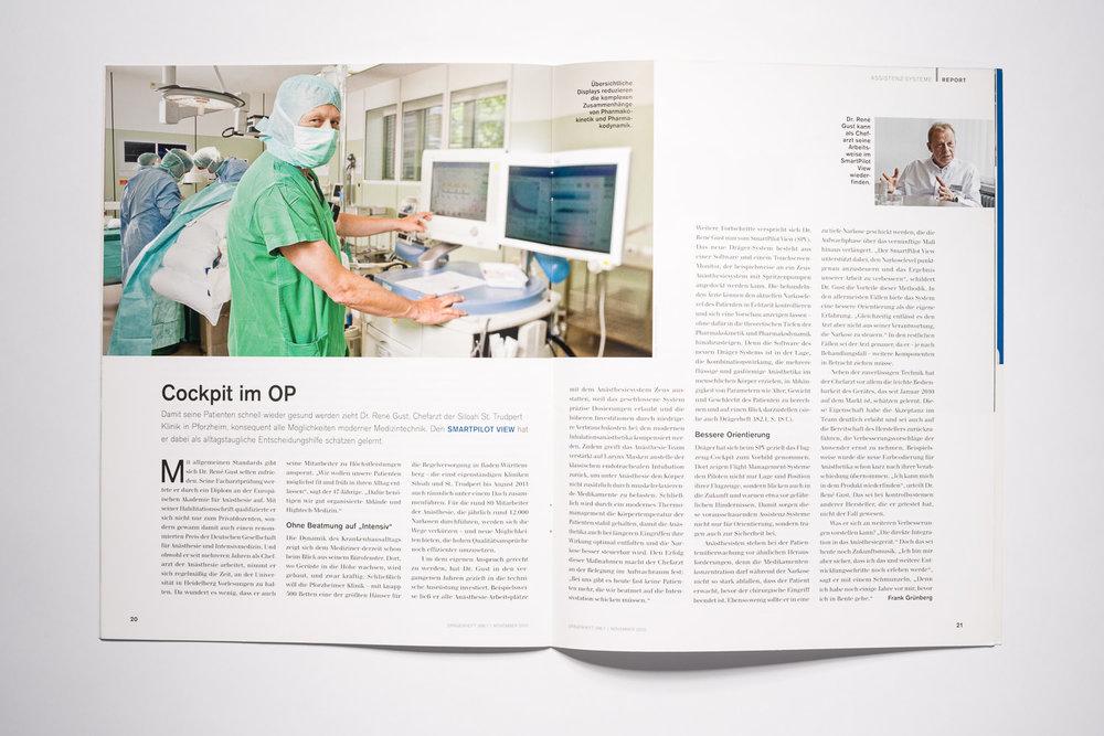 Dr. René Gust    Siloah St. Trudpert Klinikum   Dräger Medical