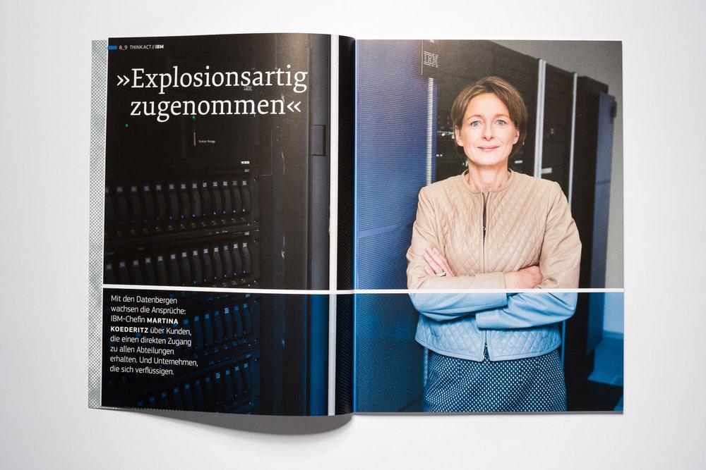 Martina Koederitz  IBM Deutschland, think: act Magazin
