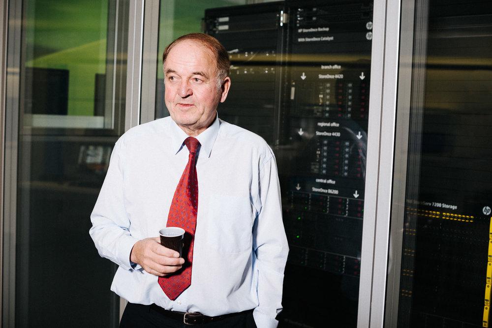 Jörg Menno Harms, Hewlett-Packard