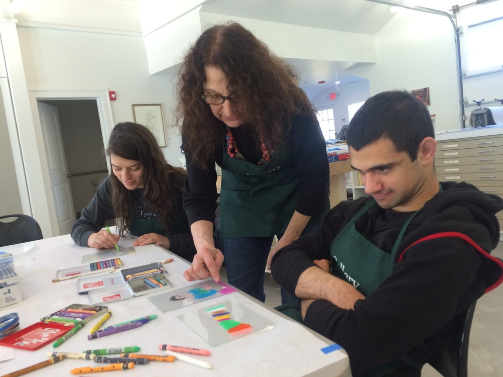 Participants of Artabilities February 2016