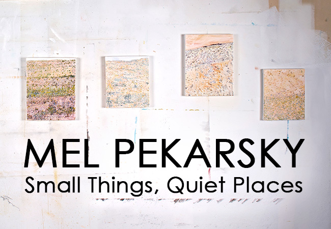 Click the image to view mel pekarsky's exhibition catalog