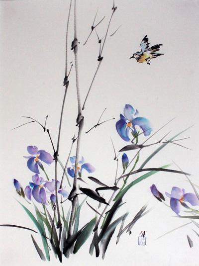 Bamboo and Iris (s).jpg