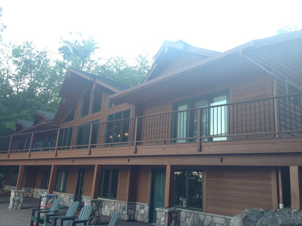 Gutter installation cabin Grand Rapids, MN