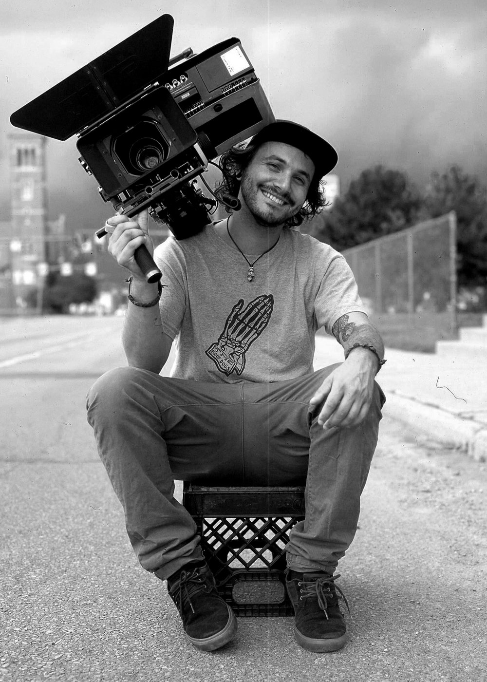 Ori Segev - Founder/Director of Photography Known for his laid back attitude, cinematography and pristine color grading, Ori knows how to draw your eyes to the frame. He has shot and directed countless videos spanning multiple genres. His DIY style of cinema welcomes new and adventurous ideas and never steps away from a challenge. Since graduating at Denison University in 2014 Ori has returned to speak to students about color grading, cinematography and animation. His love for filmmaking has given him the opportunity to travel all over the world creating visual content.