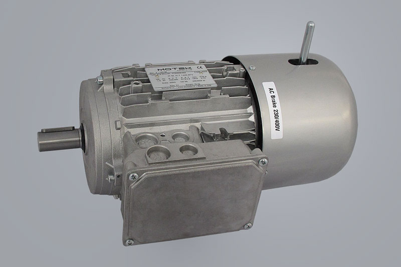 Motor with brake