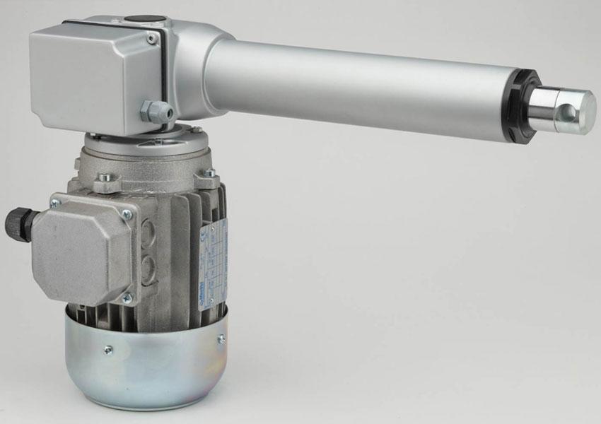 90° linear actuator