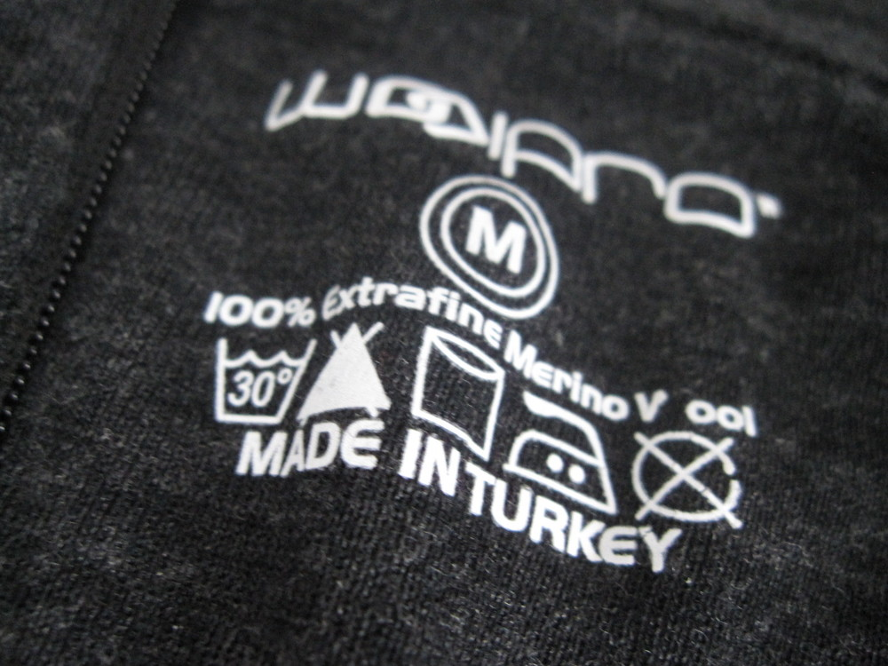 WoolPro is based in Fall River, MA and the clothing is made in Turkey